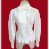 เสื้อ blouse โลลิต้า สีขาว Tatsueri Lolita Blouse