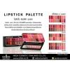 ODBO lipstick palette OD547 ลิปสติก พาเลท โอดีบีโอ