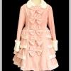 เสื้อโค้ทสวีทโลลิต้า สีชมพู Pink Ribbons Sweet Lolita Coat