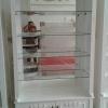 ตู้โชว์วินเทจกุหลาบสีขาวสำหรับร้านค้า