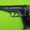 Umarex Walther PPK Black , cal 9mm.PAK. Blank Gun