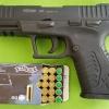 Retay XR Black 9mm. P.A.K. Blank gun.