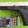 ปืนแบลงค์กันส์สิ่งเทียมอาวุธปืน Retay XR Silver 9mm. P.A.K. Blank gun.