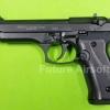 Ekol Jackal Dual Full Auto/Beretta M92 Black , cal. 9mm P.A.K. Blank Gun Gen.2 (ดำด้าน)