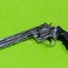 """Zoraki R1 6"""" Chrome .380RK Blank Gun"""