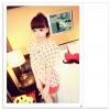 เสื้อแฟชั่นเกาหลี จาก Temperament สวมใส่สบาย พริ้วไหวด้วยผ้าคุณภาพชีฟอง มี 2 สีให้เลือก