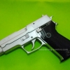 FS SIG SAUER 9mm. P220 Chrome Model cap gun