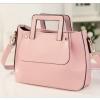 กระเป๋าหนังแฟชั่นสุภาพสตรี ทรงกระทัดรัด สีสวย มาพร้อมสายสะพายแบบถอดได้