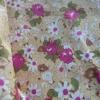 ผ้าคอตตอนไทย 100% 1/4 ม.(50x55ซม.) โทนสีเหลืองครีม