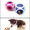 ของเล่นแมว บอลเชือกใหญ่สีชมพู