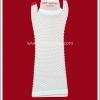 ถุงมือพังค์ แบบยาว รุ่นตาข่าย สีขาว White Punk Long Fishnet Gloves