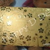 HSP5574 การ์ดแต่งงานสีทอง-เงิน