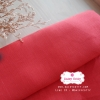 ผ้าลินิน 1/4 เมตร (50x65 cm.) สีแดง