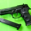 Ekol Firat Magnum/Beretta M92 Black , cal. 9mm P.A.K. Blank Gun Gen.1 (ดำเงา)