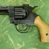 Burni Olympic 6mm Top Firing .22 caliber crimps Blank Gun with Plastic Grips