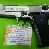 Umarex Walther P88 Silver, 9 mm. P.A.K. Blank Gun