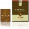 คาเฟ่ ม็อคค่า กาแฟสูตรเอกลักษณ์เฉพาะตัว ที่มีกลิ่นและรสชาติหวานกลมกล่อมด้วยโกโก้ที่ดี และเห็ดหลินจือที่มีคุณประโยชน์