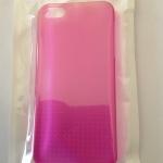 เคสไอโฟน 5/5s/SE (Case Iphone 5/5s/SE) Hard Case เคสไอโฟนรุ่นบางใส สีชมพู