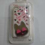 เคสไอโฟน 4/4s เคสไอโฟน Hard Case Cate Cat กรอบขาว (หัวแมวเป็นกระจกค่ะ)