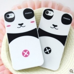 เคสไอโฟน 4/4s (Case Iphone 4/4s) Hard Case ( เคสไอโฟนคู่รัก หมีแพนด้า )