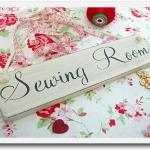ห้องเย็บผ้าน่ารักๆ **Lovely Sewing Room