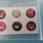 ปุ่มโฮมไอโฟน Bear (1 Pack/6 ชิ้น)