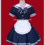ชุดเมดเซเลอร์สีกรมท่า (Navy Blue Sailor Maid Costume)