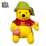 ตุ๊กตา หมีพูห์ ถือถังน้ำผึ้ง 10 นิ้ว