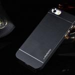 เคสไอโฟน 6/6s เคสไอโฟน Hard Case กรอบอลูมิเนียมสีดำ Motomo