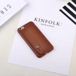 เคสไอโฟน 7 ( Silicone Case) พร้อมที่วางฝ่ามือ สีน้ำตาล