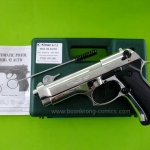 Kimar Beretta M9 (Mod. 92 AUTO) Chrome cal. 9mm.PAK Blank gun