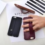 เคสไอโฟน 7 Plus ( Silicone Case) พร้อมที่วางฝ่ามือ สีเลือดหมู
