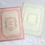 CMRG-9 การ์ดแต่งงานราคาถูก (มี 2 สี)