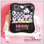 Mouse Pad (ที่รองเม้าส์) ขนาด 25*19 CM ลาย Mickey Mouse สีดำ