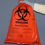 ถุงขยะอันตราย Autoclave Biohazard bags