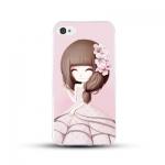 เคสไอโฟน 6/ 6s (TPU CASE) สาวเกาหลีน่ารัก แบบ 15