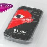 เคส S3 ลาย Play สีดำ