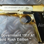 ๊Umarex Colt Government 1911 A1 Gold Rush Limited Edition Blank gun