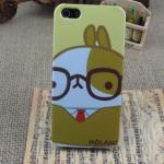 เคสไอโฟน 5/5s/SE (Case Iphone 5/5s/SE) Hard Case เคสไอโฟนกระต่ายน่ารักสไตส์เกาหลี แบบ 6