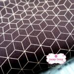 ผ้าคอตตอนไทย 100% 1/4ม. (50x55ซม.) โทนสีน้ำตาล