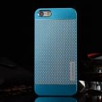เคสไอโฟน 6/6s เคสไอโฟน Hard Case Motomo กรอบอลูมิเนียมเกาหลีลายจุด สีฟ้า