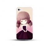 เคสไอโฟน 6 / 6s (TPU CASE) สาวเกาหลีน่ารัก แบบ 5