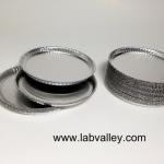 ถาดอลูมิเนียม aluminium pans (for moisture balance)