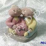 ของชำร่วย ตุ๊กตาปั้น ดุ๊กดิ๊ก เซรามิค PD-ka15