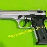 Ekol Beretta 92f (Firat Magnum) Satin (เงินด้าน) , cal. 9mm P.A.K. Blank Gun Gen.2
