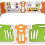 คอกกั้นเด็ก Haenim new สีเบส รุ่น Melody+ Playgame Size L