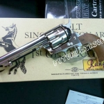 Tanaka Colt Single Action Army Revolver 1st Generation 5 1/2 inch Nickel Plating Model cap gun
