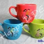 ของชำร่วย แก้วเซรามิค แก้วตราไก่ GG-ca76