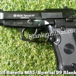 Ekol Beretta M85 (Special 99) Black Front Firing 9mm.PAK Blank Gun