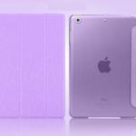 เคสไอแพด Ipad Air 2 ( Purple ) Slim and Show Body